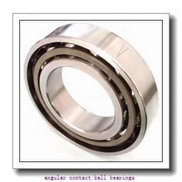 2.756 Inch | 70 Millimeter x 4.921 Inch | 125 Millimeter x 1.563 Inch | 39.7 Millimeter  EBC 5214 2RS  Angular Contact Ball Bearings
