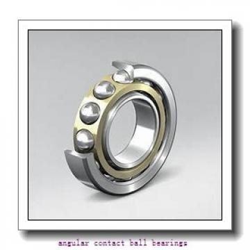 1.969 Inch | 50 Millimeter x 3.543 Inch | 90 Millimeter x 1.189 Inch | 30.2 Millimeter  EBC 5210  Angular Contact Ball Bearings